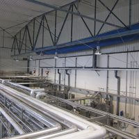 VERTIC's ALTIRAIL horizontal fall protection rail system in sling version