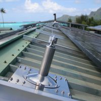 VERTIC's BATILIGNE horizontal lifeline system