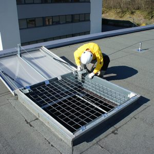 Fall protection grids
