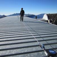 BATILIGNE on steel structure - skilift