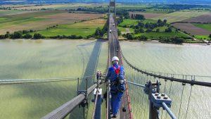 Bridge of Tancarville (Seine-Maritime) : Combiligne VERTIC