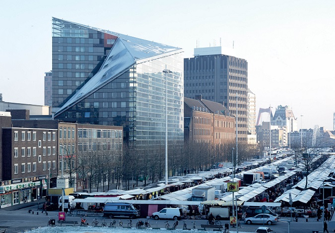 The Rotterdam Building City equipped by our Partner VERTIC NL