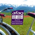 VERTIC & ALPIC certified ISO 14 001 v. 2015!
