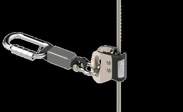 CMBV on cable - vertical lifeline DELTA PLUS SYSTEMS